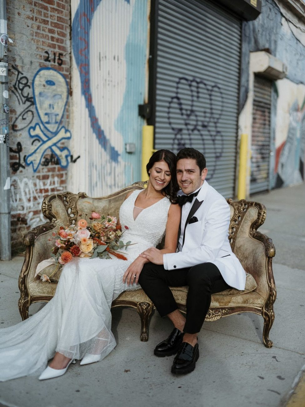 Brooklyn Wedding Couple Getting Married