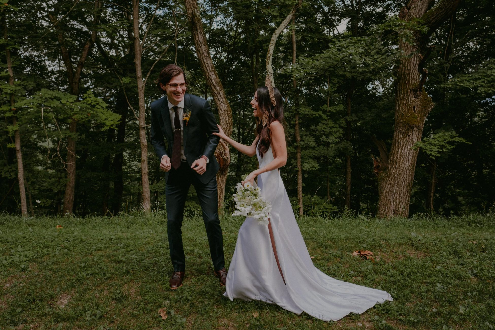 boho upstate new york wedding wild and organic outdoors