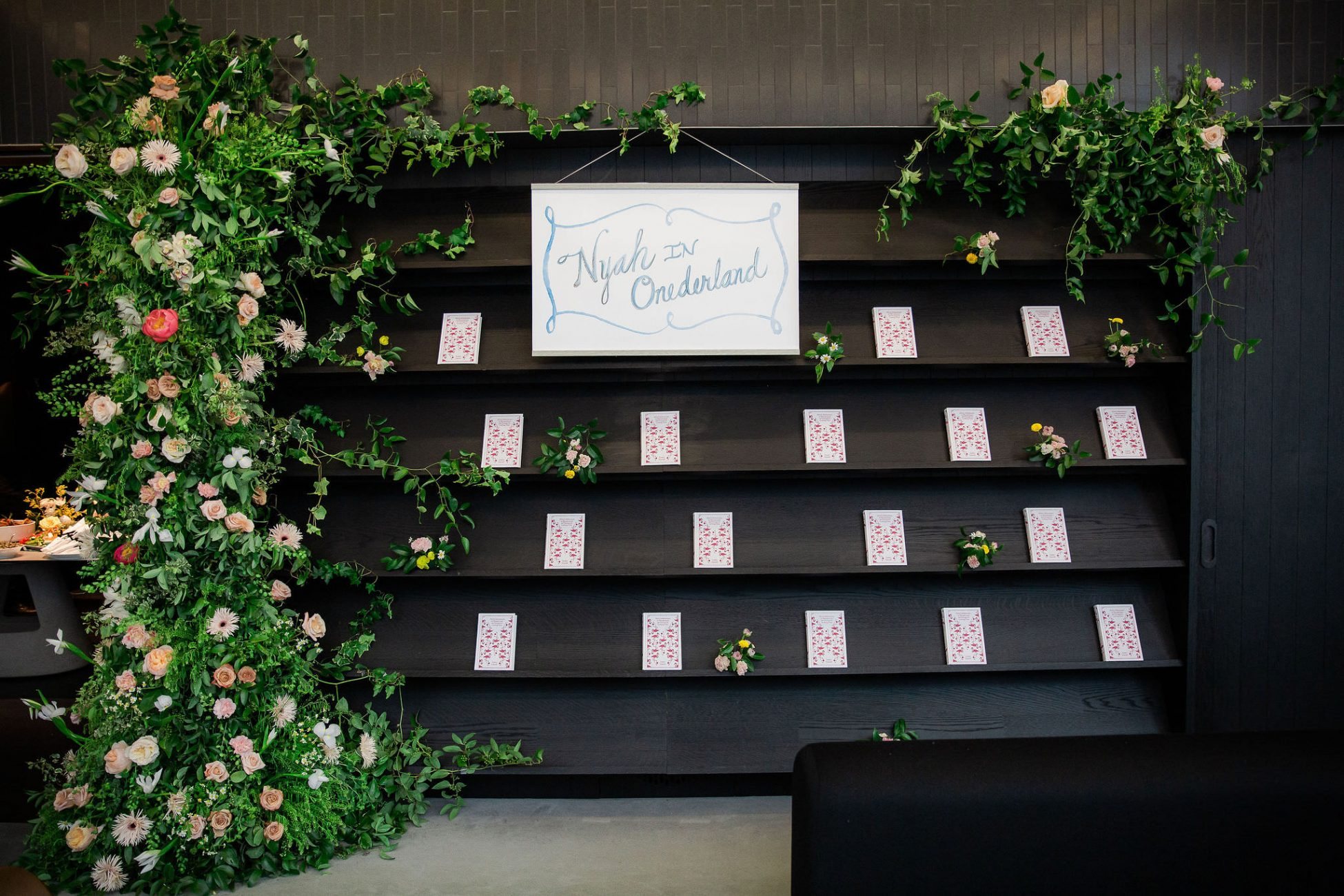 Floral Installation for a NYC Baby Shower